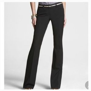 Express Black Editor Boot cut fitted Pant! 6R